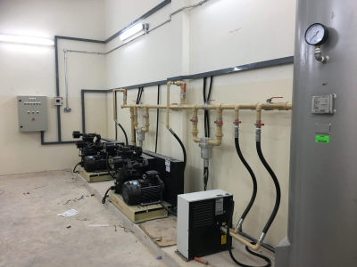 Air Compressor Installation 3